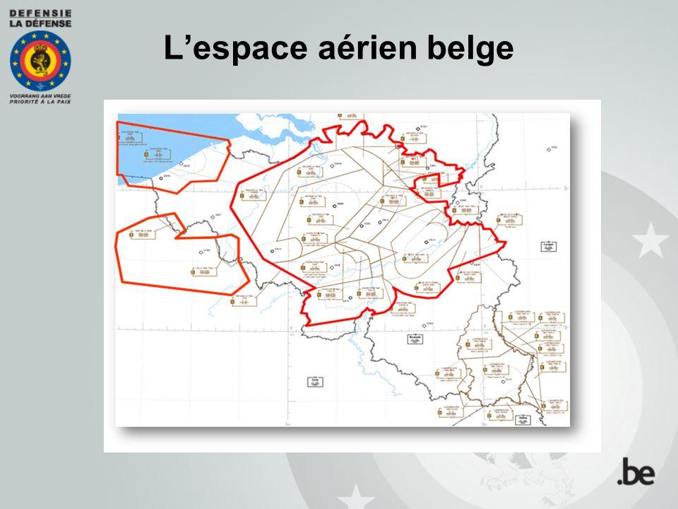 L'espace aérien belge