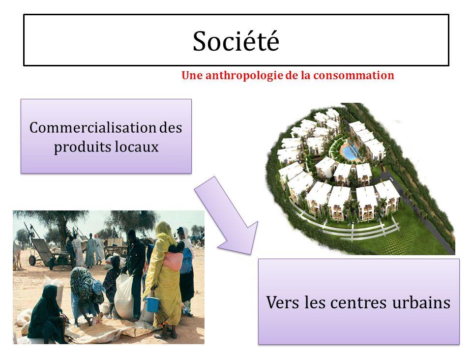 Société Vers les centres urbains Commercialisation des produits locaux