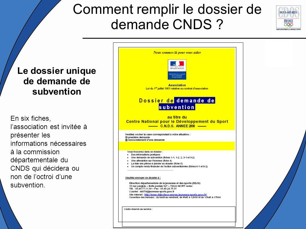 Le Dossier Unique De Demande De Subvention Ppt Video Online