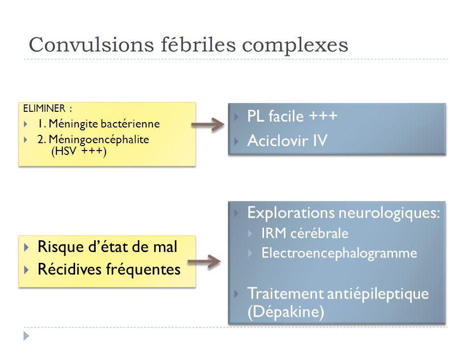 Convulsions fébriles complexes