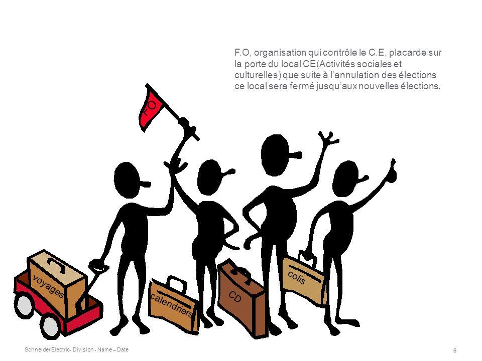 F. O, organisation qui contrôle le C