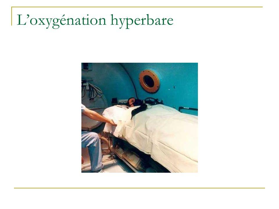 L'oxygénation hyperbare