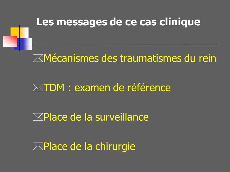 Les messages de ce cas clinique