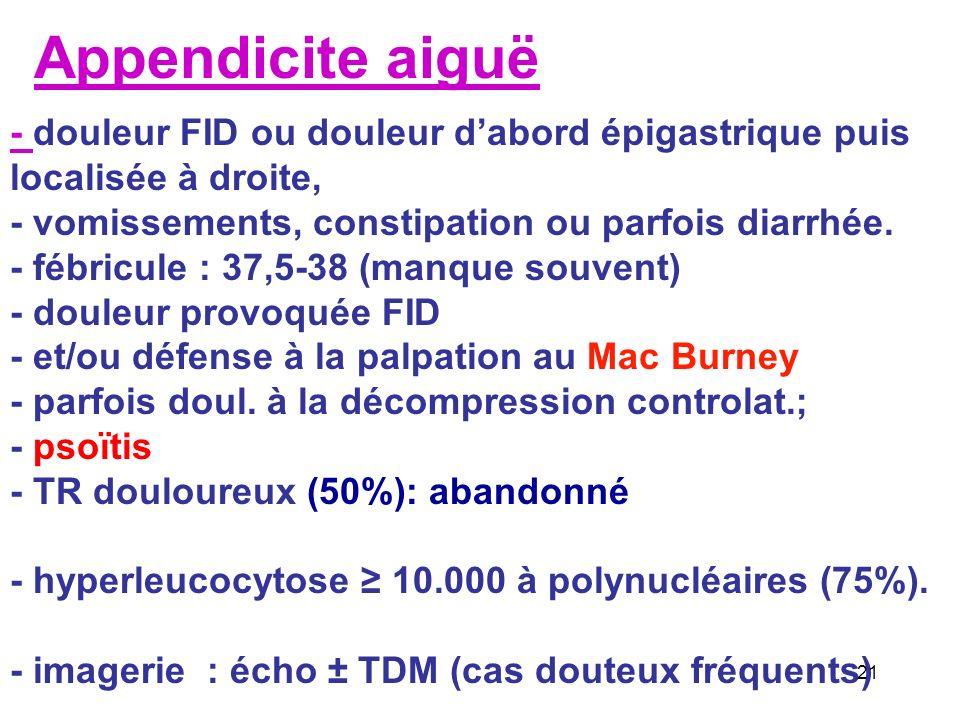 Rétropneumopéritoine : duodénum, recto-sigmoïde