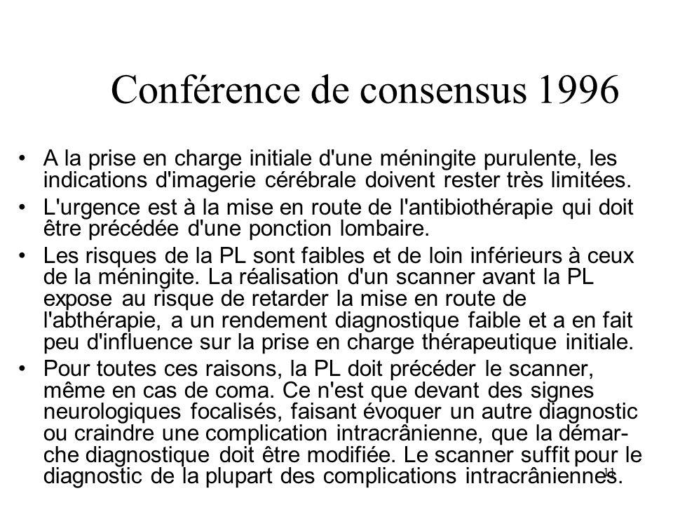 Conférence de consensus 1996