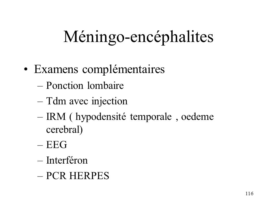 Méningo-encéphalites