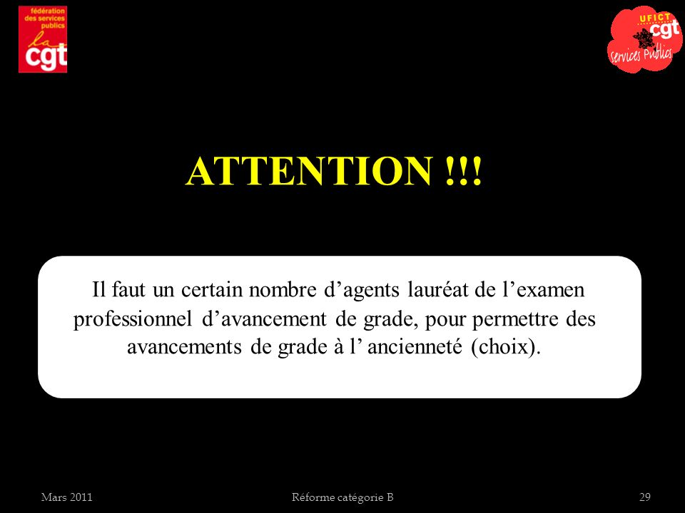 ATTENTION !!!