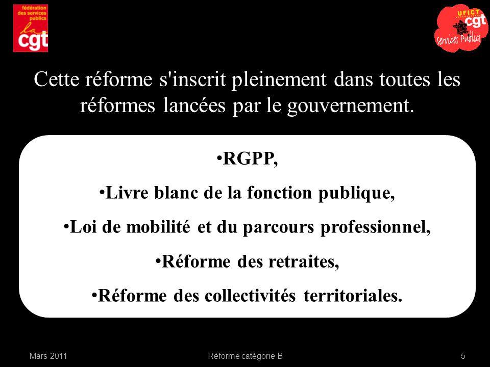 Cette réforme s inscrit pleinement dans toutes les réformes lancées par le gouvernement.