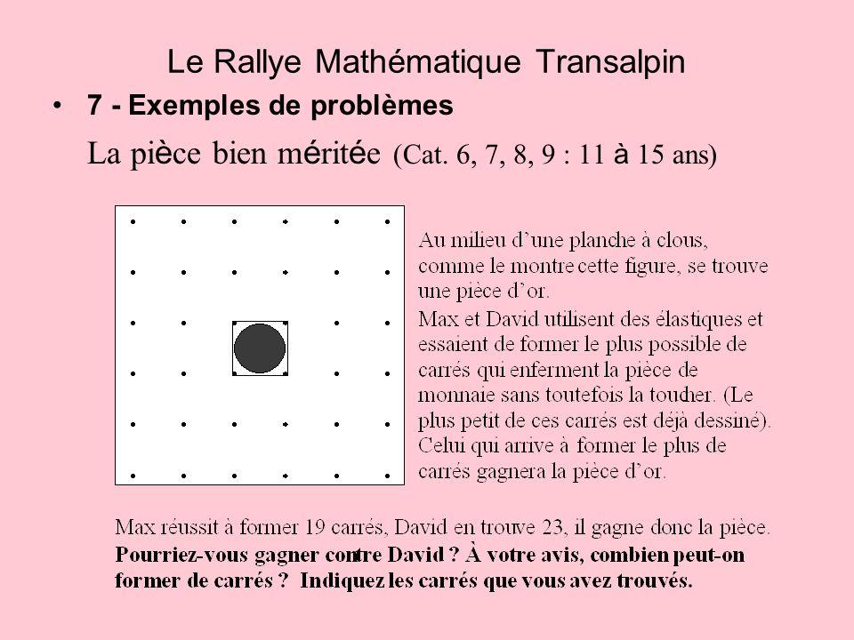 Le Rallye Mathématique Transalpin