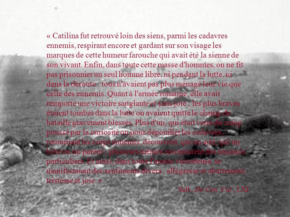 CATILINA VAINCU L'affaire Catilina