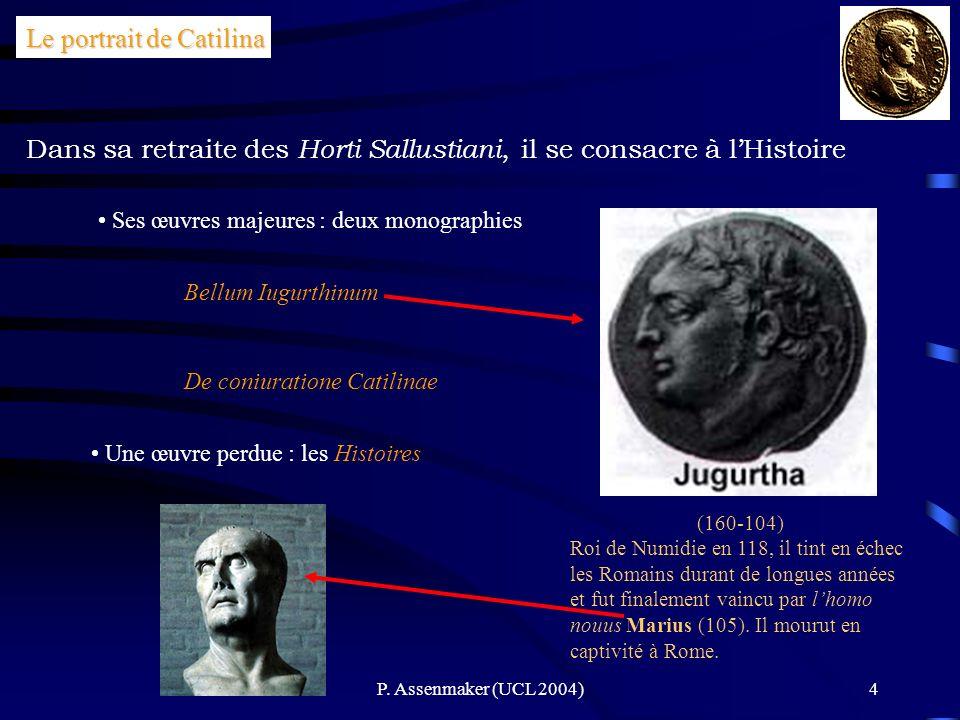 Le portrait de Catilina