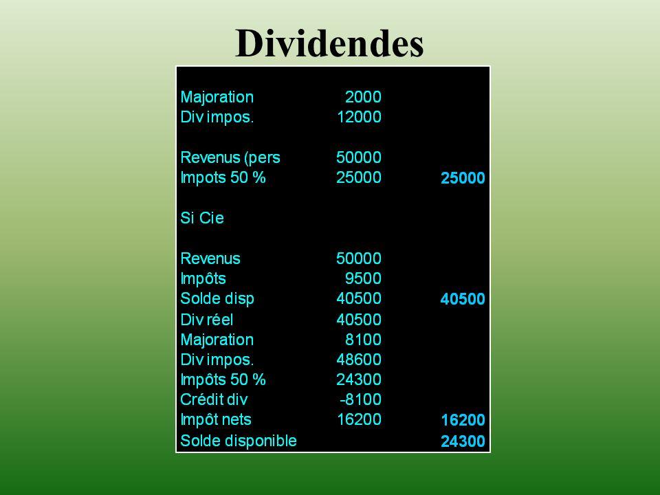 Dividendes 14