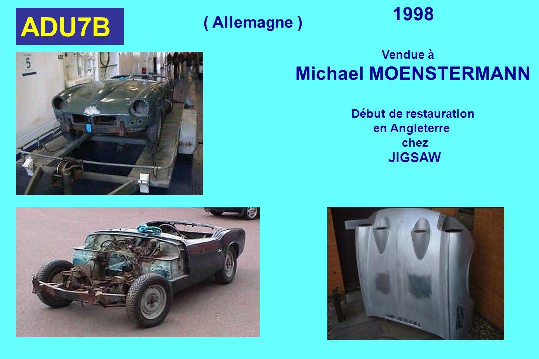 ADU7B 1998 Michael MOENSTERMANN ( Allemagne ) Vendue à