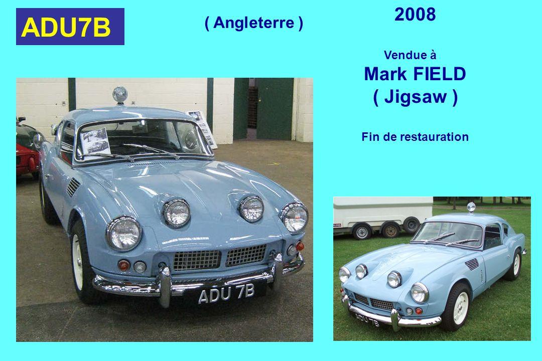 ADU7B 2008 Mark FIELD ( Jigsaw ) ( Angleterre ) Vendue à