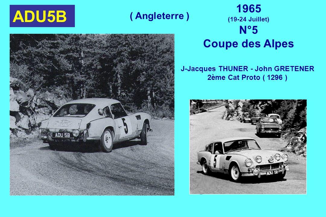 J-Jacques THUNER - John GRETENER
