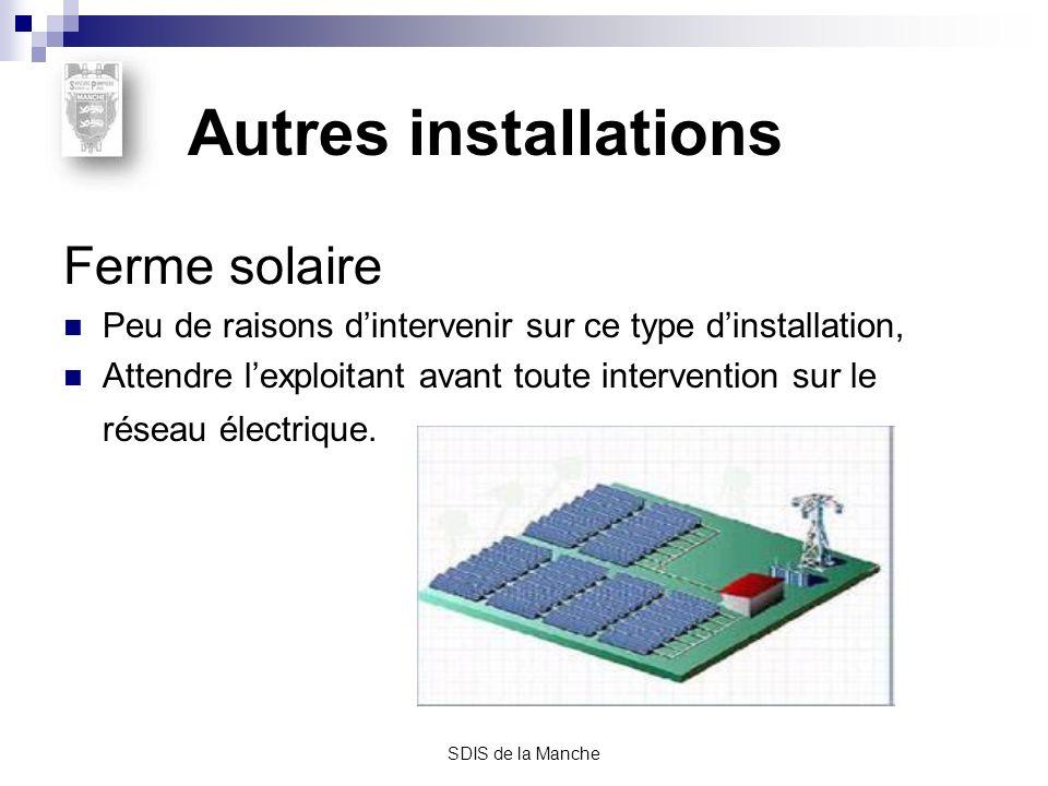 Autres installations Ferme solaire