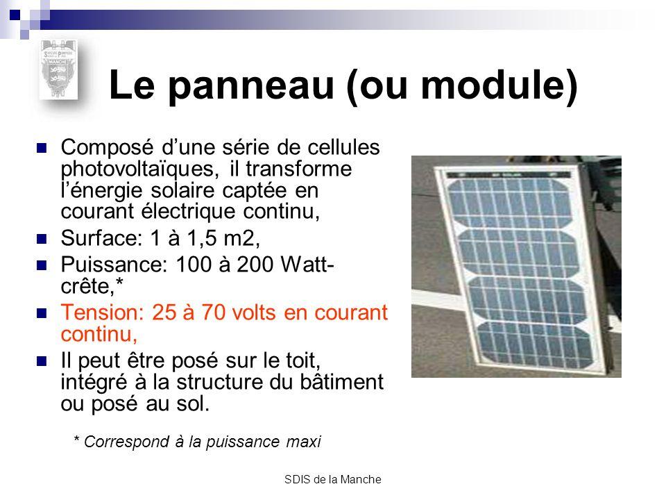 Intervention sur site équipé de panneaux solaires