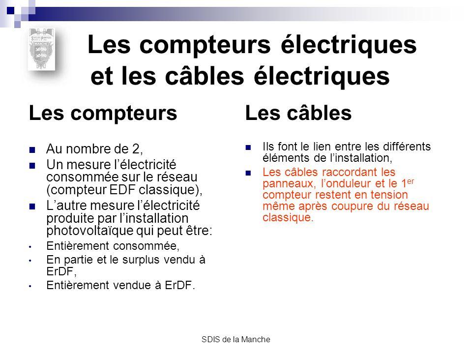Les compteurs électriques et les câbles électriques