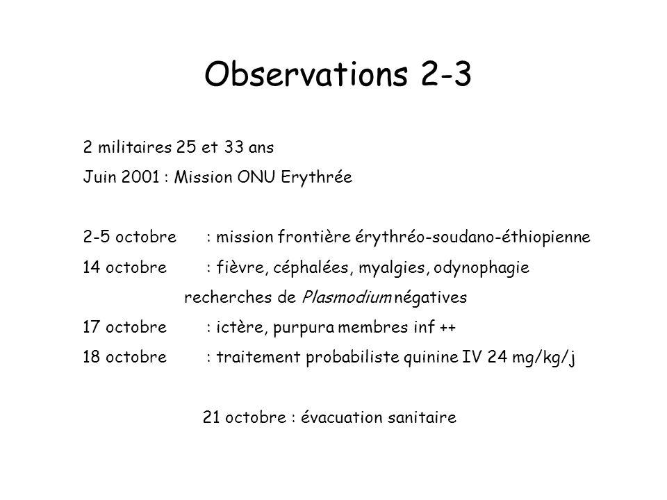 Observations 2-3 2 militaires 25 et 33 ans