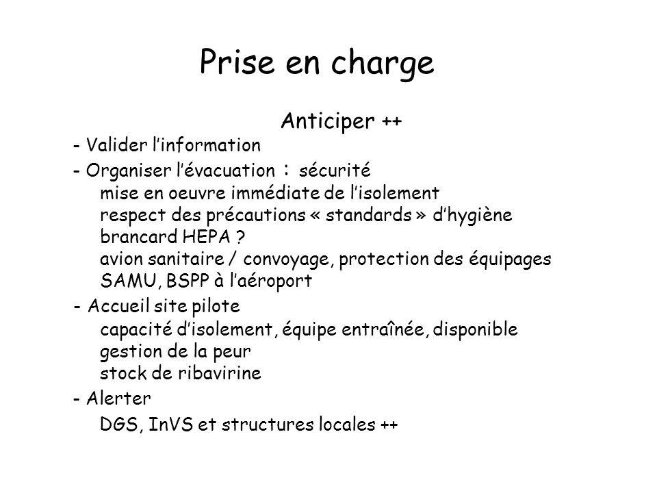 Prise en charge Anticiper ++