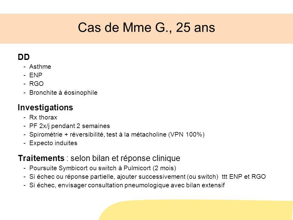 Cas de Mme G., 25 ans DD Investigations