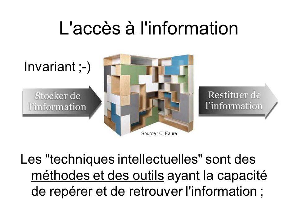 L accès à l information Invariant ;-)