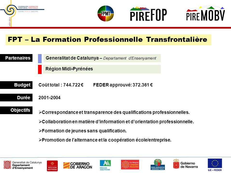 FPT – La Formation Professionnelle Transfrontalière
