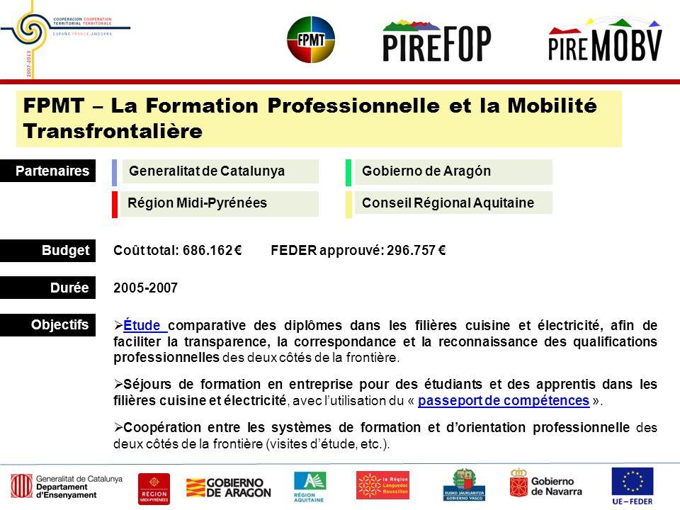 FPMT – La Formation Professionnelle et la Mobilité Transfrontalière