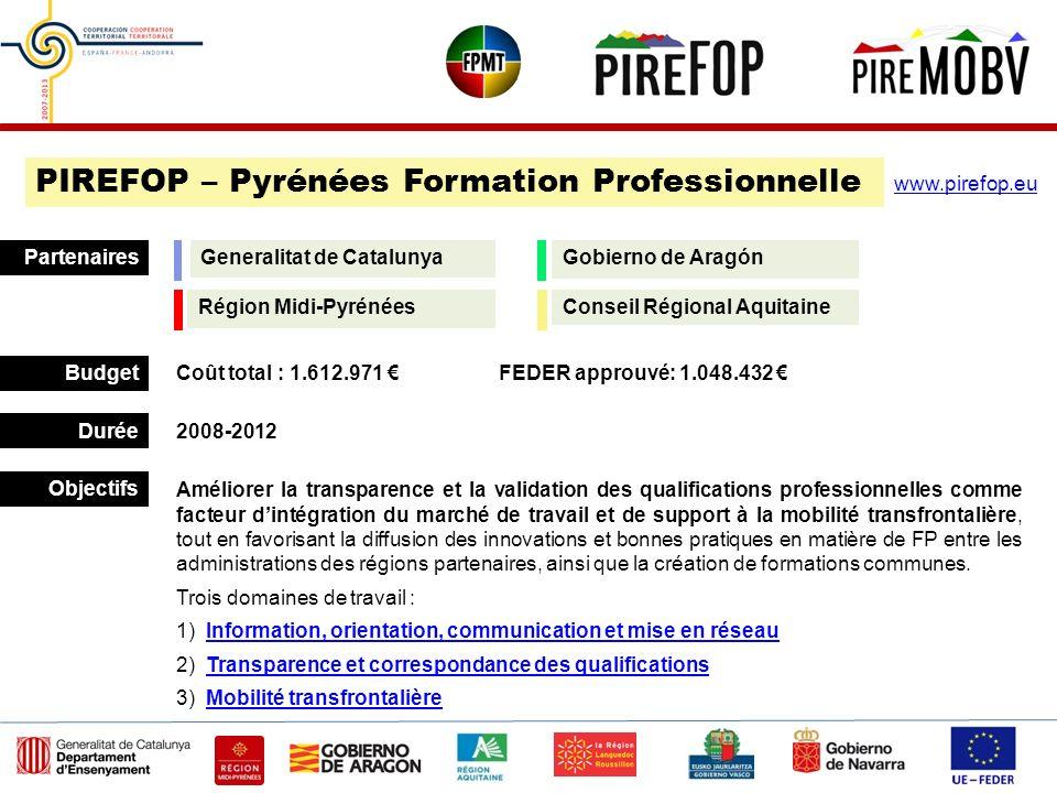 PIREFOP – Pyrénées Formation Professionnelle