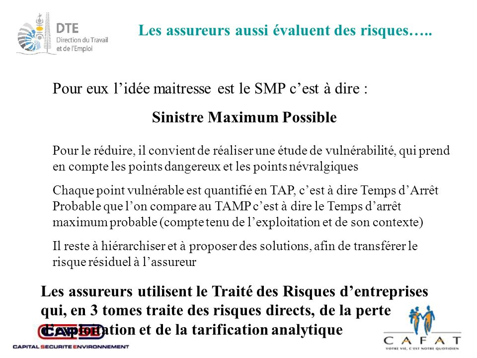 Sinistre Maximum Possible
