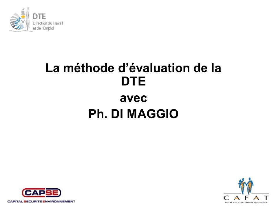La méthode d'évaluation de la DTE