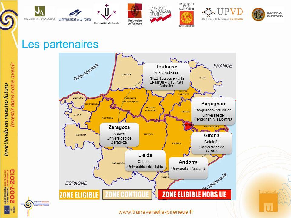 Les partenaires www.transversalis-pireneus.fr Toulouse Perpignan