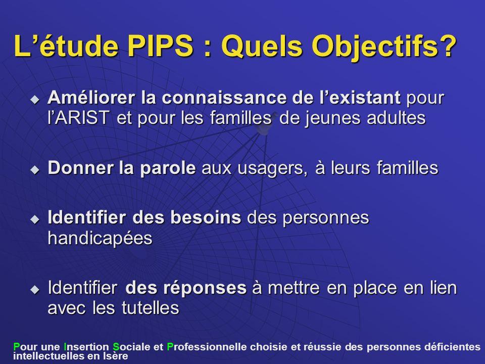 L'étude PIPS : Quels Objectifs