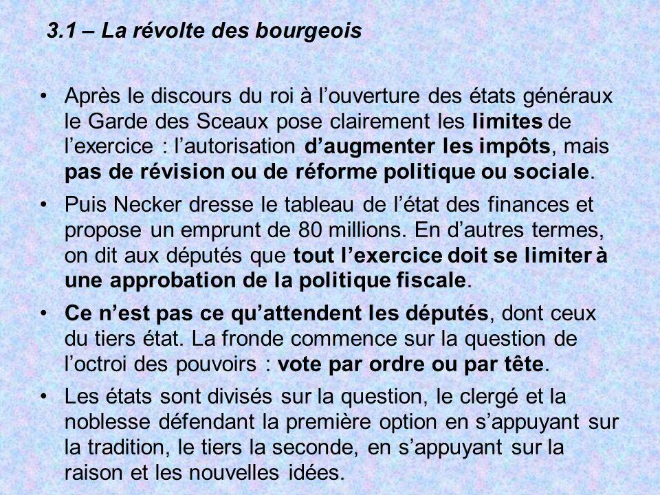 3.1 – La révolte des bourgeois