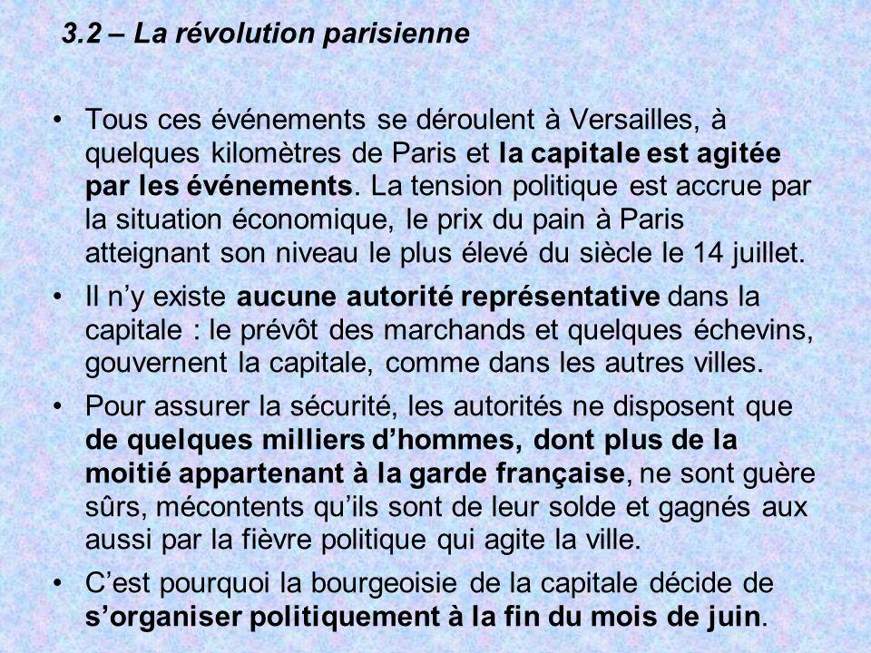 3.2 – La révolution parisienne