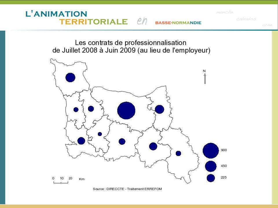 Attention : données à la zone d'emploi et non à la zone CLEF