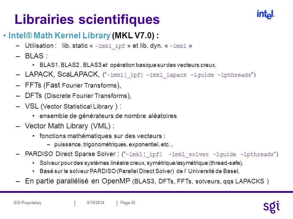 Librairies scientifiques