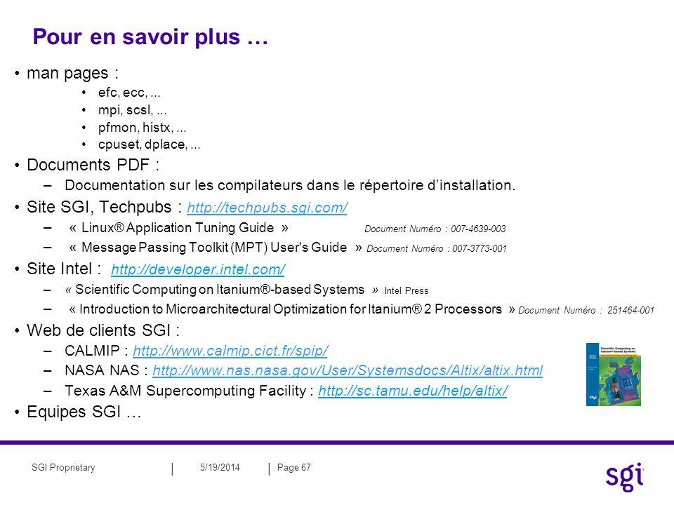 Pour en savoir plus … man pages : Documents PDF :