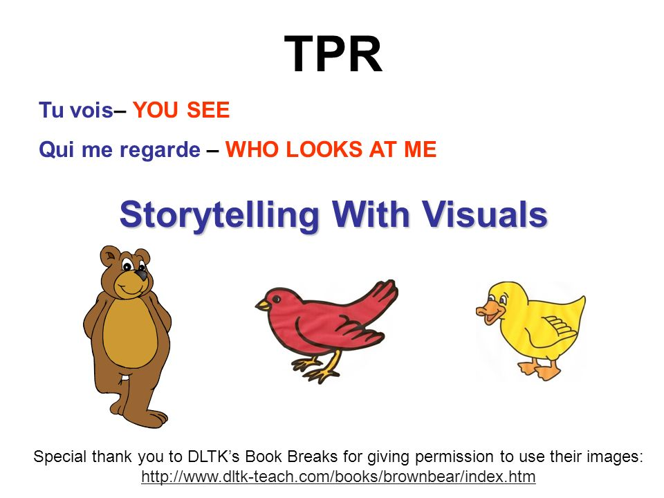 Storytelling With Visuals