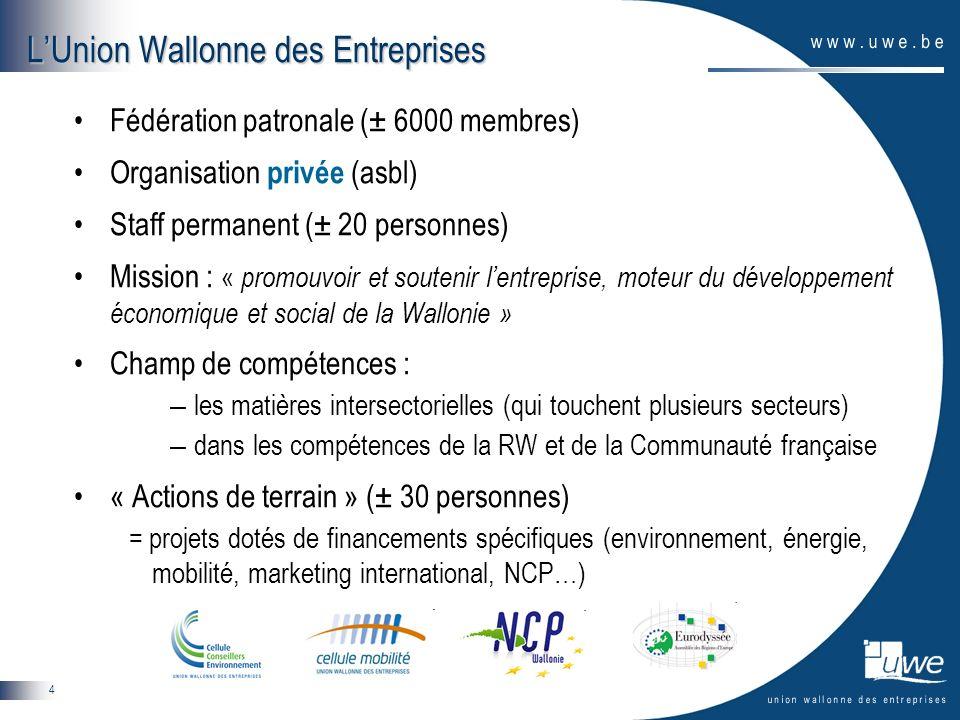 L'Union Wallonne des Entreprises