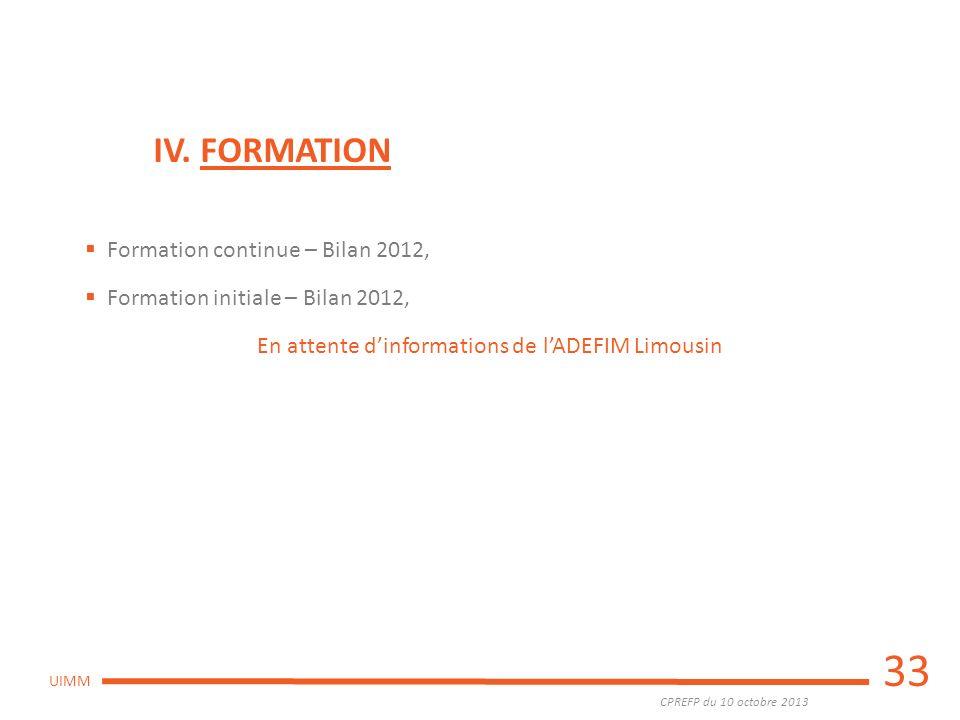 En attente d'informations de l'ADEFIM Limousin