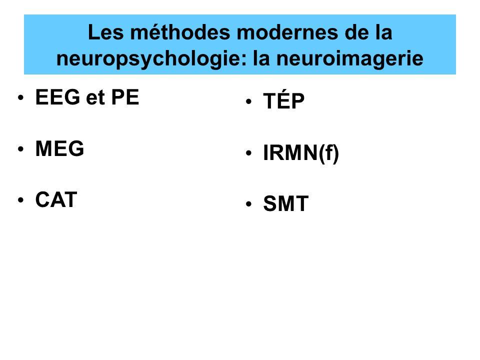 Les méthodes modernes de la neuropsychologie: la neuroimagerie