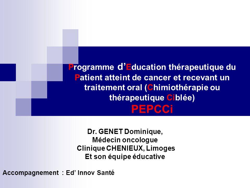 Clinique CHENIEUX, Limoges Et son équipe éducative