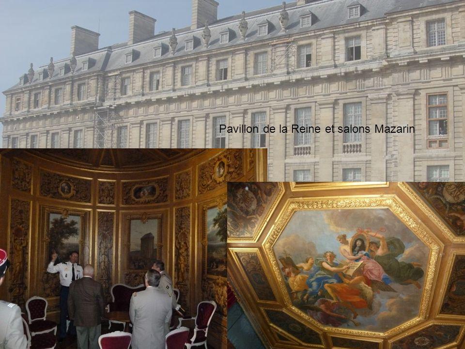 Pavillon de la Reine et salons Mazarin