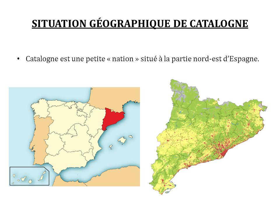 SITUATION GÉOGRAPHIQUE DE CATALOGNE