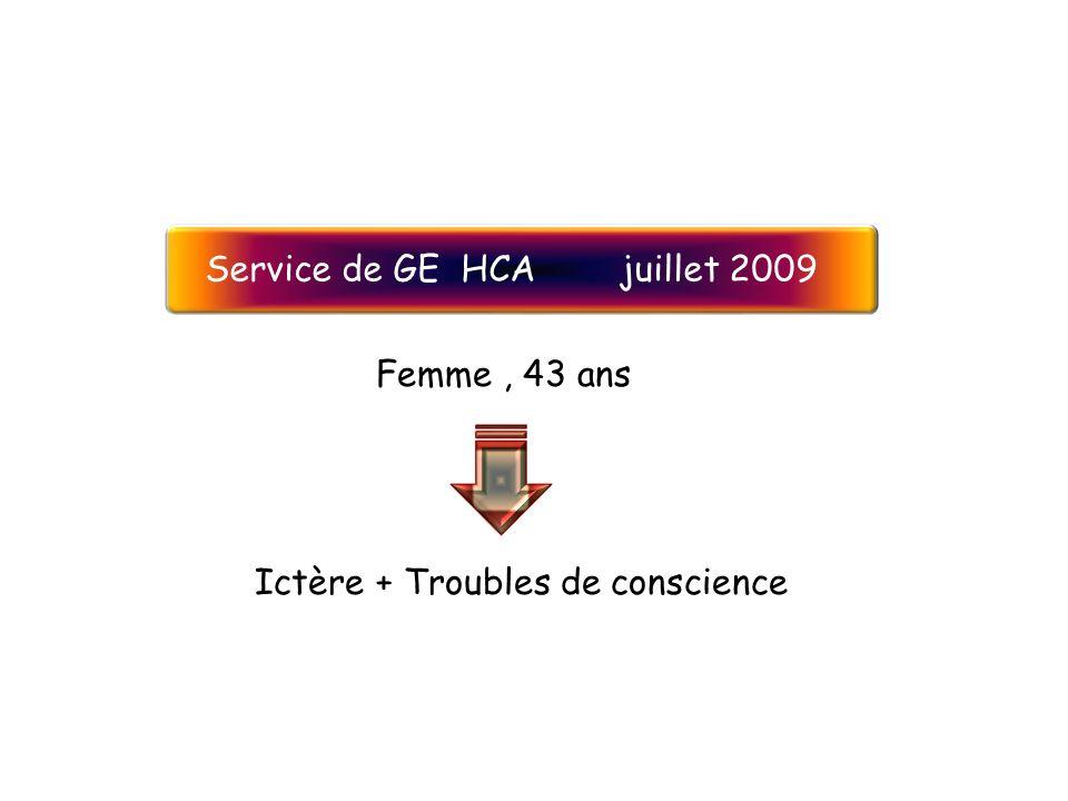 Service de GE HCA juillet 2009