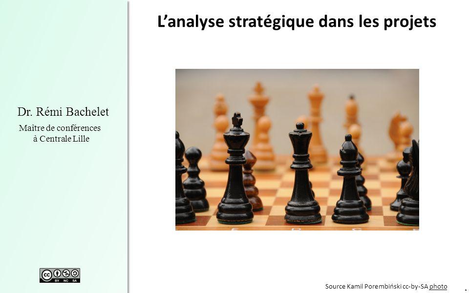 L'analyse stratégique dans les projets