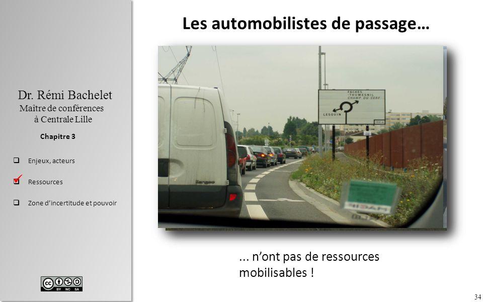 Les automobilistes de passage…