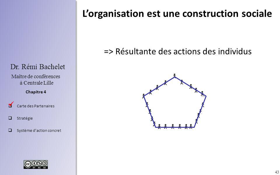 L'organisation est une construction sociale
