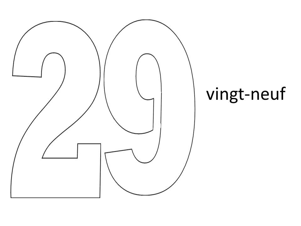 vingt-neuf